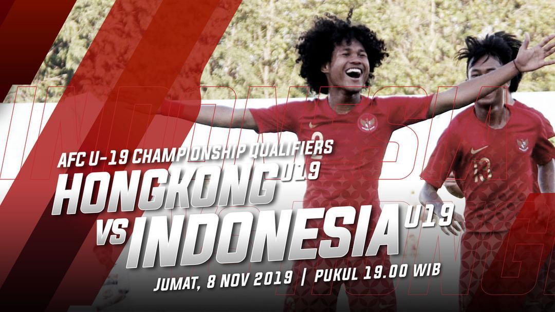 Hadapi HongKong Indonesia U-19 Rotasi Pemain