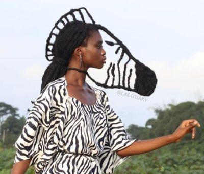 Wanita Ini Kreasikan Rambut Jadi Karya Seni, 6 Hasilnya Bikin Melongo