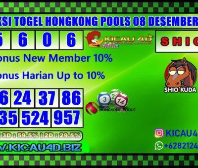 PREDIKSI HONGKONG POOLS 08 DESEMBER 2019