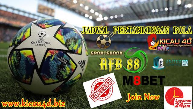 JADWAL PERTANDINGAN BOLA 09–10 Desember 2019