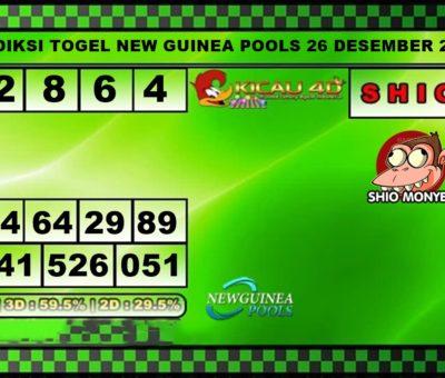 PREDIKSI TOGEL NEW GUINEA 26 DESEMBER 2019
