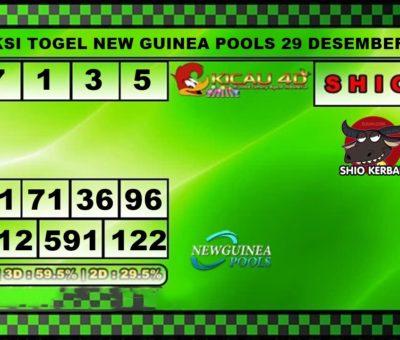 PREDIKSI TOGEL NEW GUINEA 29 DESEMBER 2019