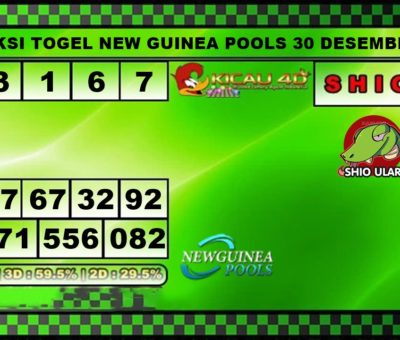 PREDIKSI TOGEL NEW GUINEA 30 DESEMBER