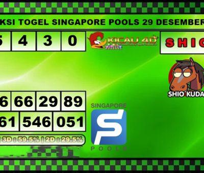 PREDIKSI TOGEL SINGAPORE 29 DESEMBER 2019
