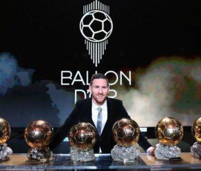 Messi Raih Kemenangan Ballon d'Or 2019