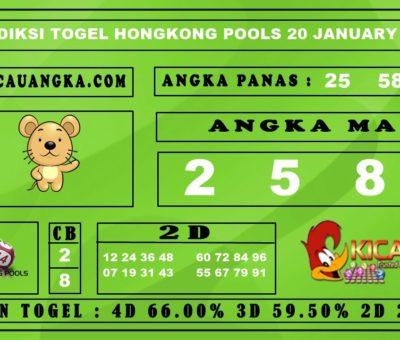 PREDIKSI TOGEL HONGKONG POOLS 20 JANUARY 2020