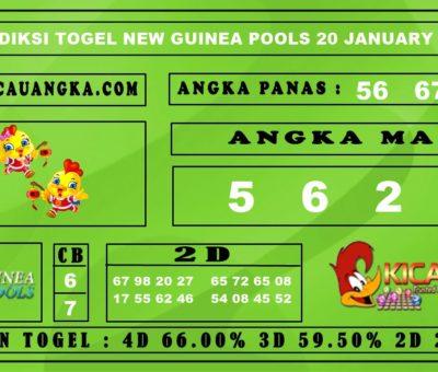 PREDIKSI TOGEL NEW GUINEA POOLS 20 JANUARY 2020