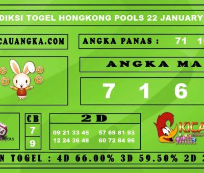 PREDIKSI TOGEL HONGKONG POOLS 22 JANUARY 2020
