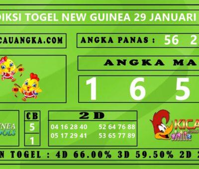 PREDIKSI TOGEL NEW GUINEA 29 JANUARI 2020