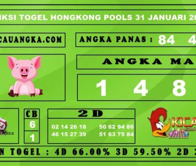 PREDIKSI TOGEL HONGKONG POOLS 31 JANUARI 2020