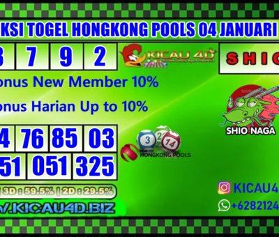 PREDIKSI TOGEL HONGKONG POOLS 04 JANUARI 2020