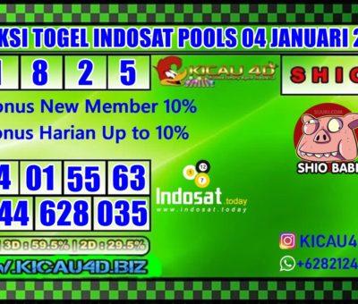 PREDIKSI TOGEL INDOSAT POOLS 04 JANUARI 2020