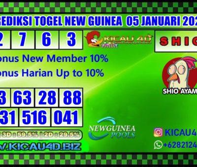 PREDIKSI NEW GUINEA 05 JANUARI 2020