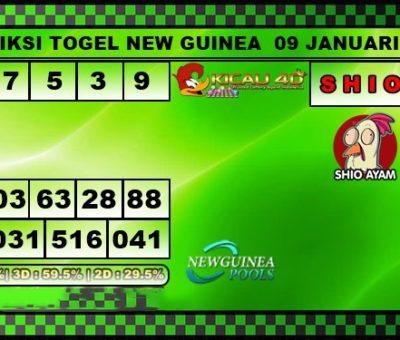 PREDIKSI NEW GUINEA 09 JANUARI 2020