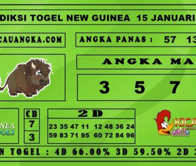 PREDIKSI TOGEL NEW GUINEA 15 JANUARI 2020