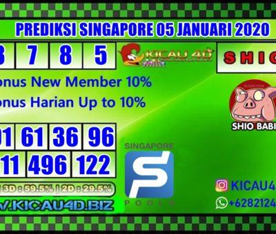 PREDIKSI SINGAPORE POOLS 05 JANUARI 2020