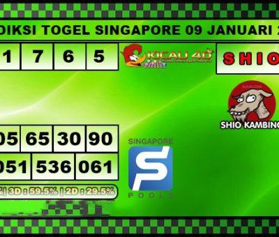 PREDIKSI SINGAPORE 09 JANUARI 2020