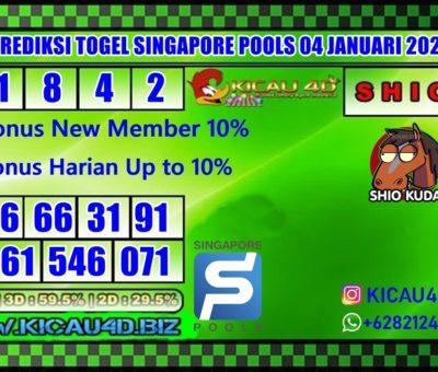PREDIKSI SINGAPORE POOLS 04 JANUARI 2020