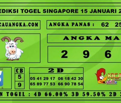 PREDIKSI TOGEL SINGAPORE 15 JANUARI 2020
