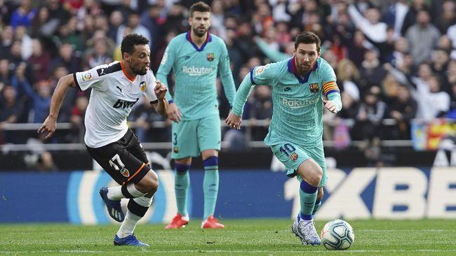 Hasil Liga Spanyol: Barcelona Kalah 0-2 dari Valencia