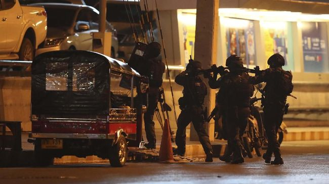 Penembakan di Thailand Tewaskan 29 Orang