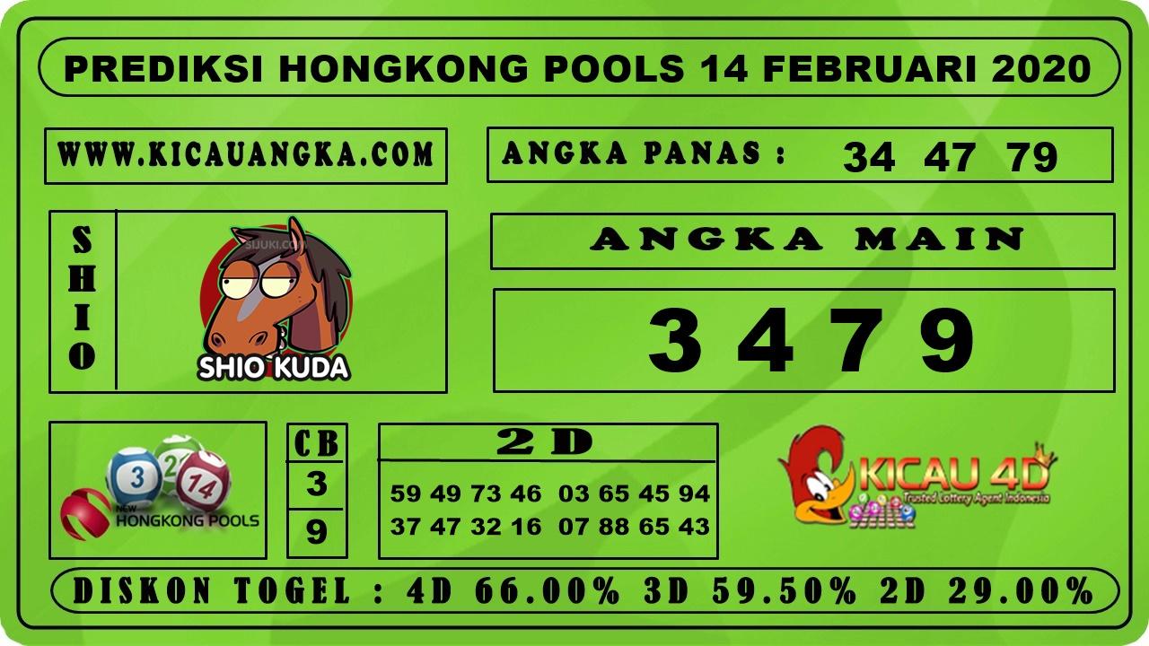 PREDIKSI HONGKONG POOLS 14 FEBRUARI 2020