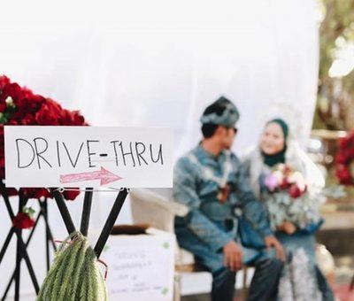Ini 6 Potret Pesta Pernikahan Unik Pakai Konsep Drive-Thru