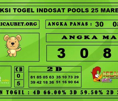 PREDIKSI TOGEL INDOSAT POOLS 25 MARET 2020