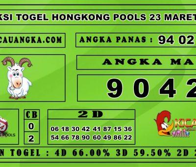 PREDIKSI TOGEL HONGKONG POOLS 23 MARET 2020