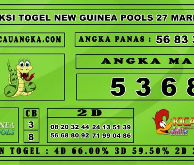 PREDIKSI TOGEL NEW GUINEA POOLS 27 MARET 2020