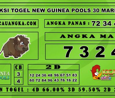 PREDIKSI TOGEL NEW GUINEA POOLS 30 MARET 2020