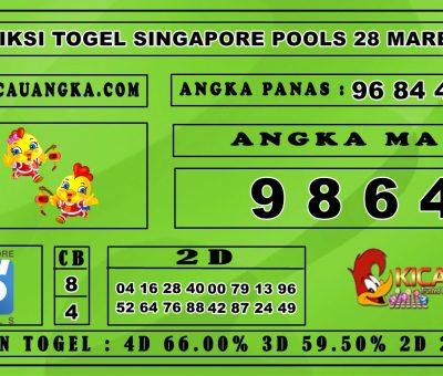 PREDIKSI TOGEL SINGAPORE POOLS 28 MARET 2020