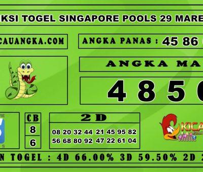 PREDIKSI TOGEL SINGAPORE POOLS 29 MARET 2020