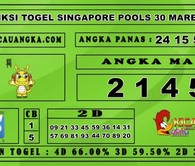 PREDIKSI TOGEL SINGAPORE POOLS 30 MARET 2020