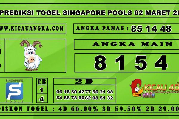 PREDIKSI TOGEL SINGAPORE POOLS 02 APRIL 2020