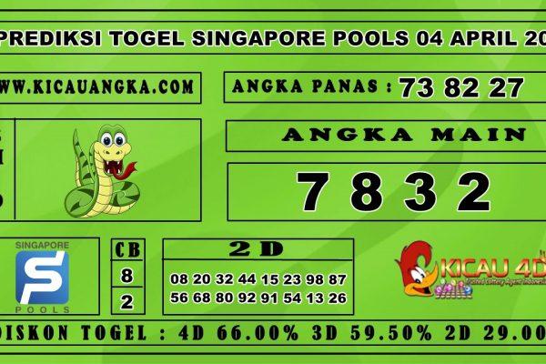 PREDIKSI TOGEL SINGAPORE POOLS 04 APRIL 2020