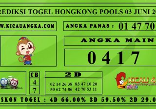 PREDIKSI TOGEL HONGKONG POOLS 03 JUNI 2020