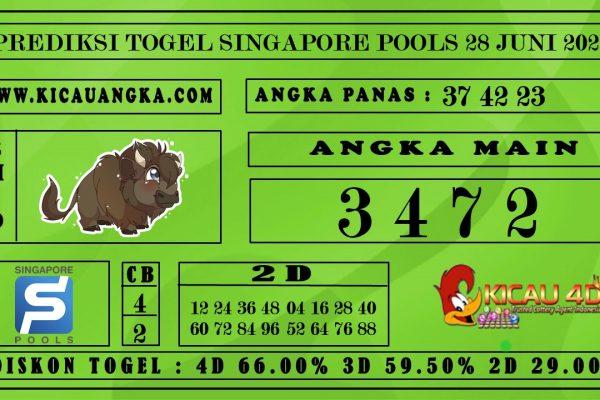 PREDIKSI TOGEL SINGAPORE POOLS 28 JUNI 2020
