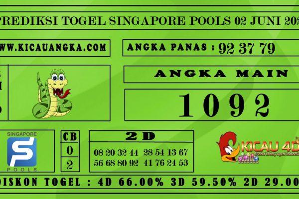 PREDIKSI TOGEL SINGAPORE POOLS 02 JULI 2020