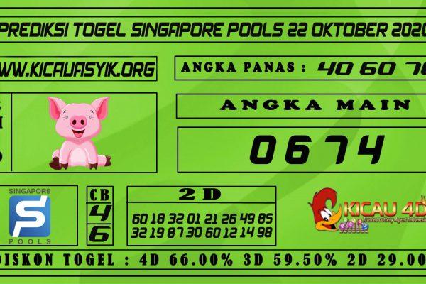 PREDIKSI TOGEL SINGAPORE POOLS 22 OKTOBER 2020