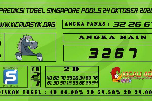 PREDIKSI TOGEL SINGAPORE POOLS 24 OKTOBER 2020