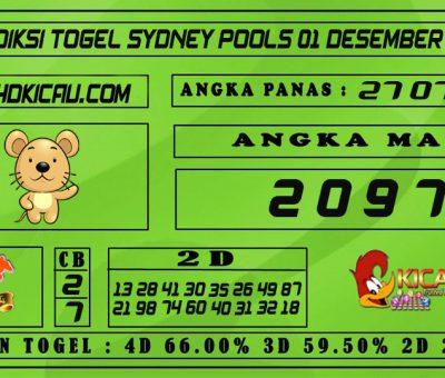 PREDIKSI TOGEL SYDNEY POOLS 01 DESEMBER 2020