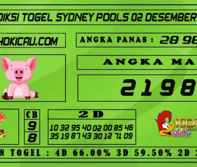 PREDIKSI TOGEL SYDNEY POOLS 02 DESEMBER 2020