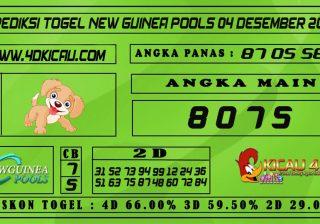 PREDIKSI TOGEL NEW GUINEA POOLS 04 DESEMBER 2020