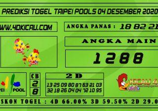 PREDIKSI TOGEL TAIPEI POOLS 04 DESEMBER 2020
