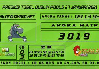 PREDIKSI TOGEL DUBLIN POOLS 27 JANUARI 2021
