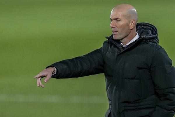 Kalah dari Tim Gurem, Zinedine Zidane Masih Aman dari Pemecatan