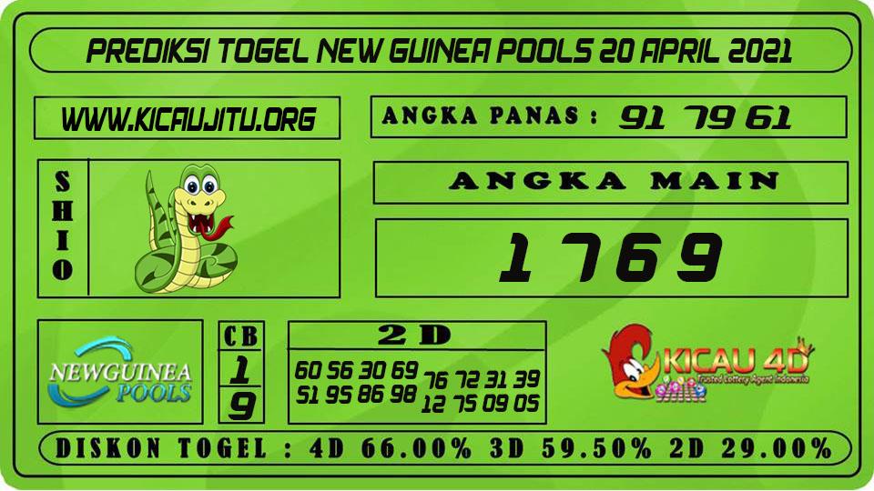 PREDIKSI TOGEL NEW GUINEA POOLS 20 APRIL 2021