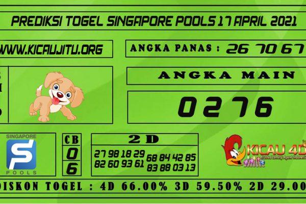 PREDIKSI TOGEL SINGAPORE POOLS 17 APRIL 2021