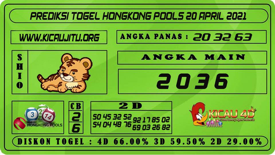 PREDIKSI TOGEL HONGKONG POOLS 20 APRIL 2021